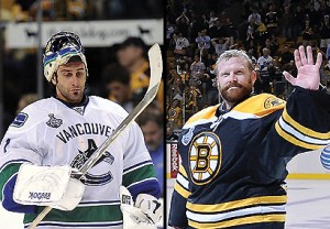 Roberto Luongo and Tim Thomas will be teammates in Florida for at least one day