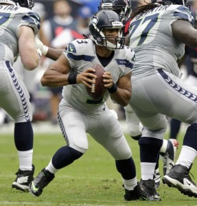 Russell Wilson destroyed the Houston Texans