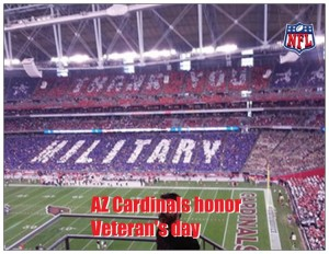 NFL honors Military Vets
