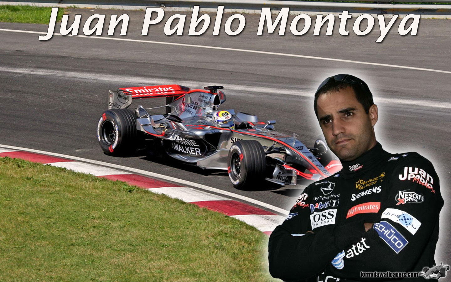Juan Pablo Montoya; Race car driver, and also a Dad